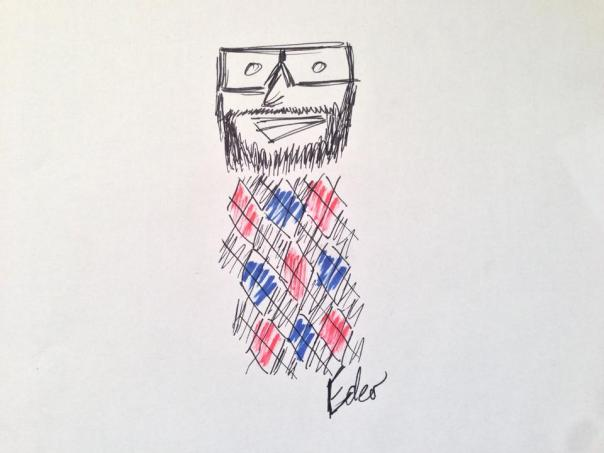This doodle is the work of the wonderfully talented Ian Campbell. Hire him: @mrcampbell17